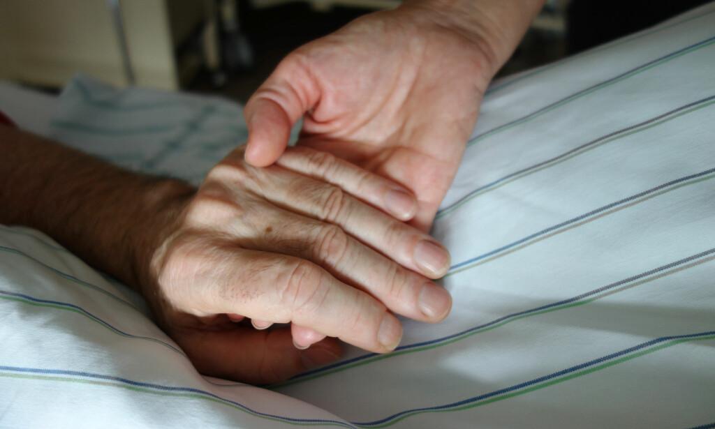DØDSHJELP: Å implementere dødshjelp som en del av helsetjenesten vil være en kapitulasjon, mener artikkelforfatteren. Foto: NTB scanpix