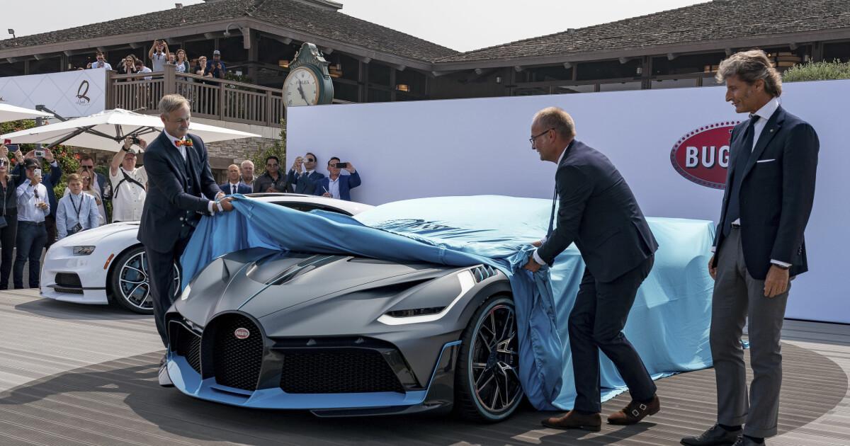 bugatti divo is presented – it knocks bugatti chiron. price: sek 48