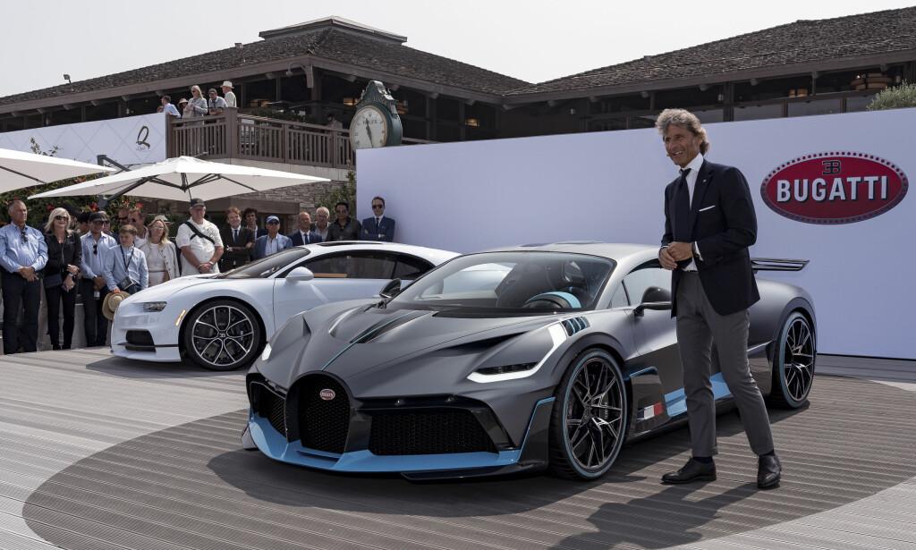 Bugatti Divo avduket - Den banker Bugatti Chiron. Pris: 48 millioner kroner - DinSide