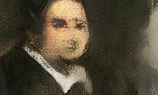 image: Maleriet av mystiske Edmond er ikke laget av et menneske