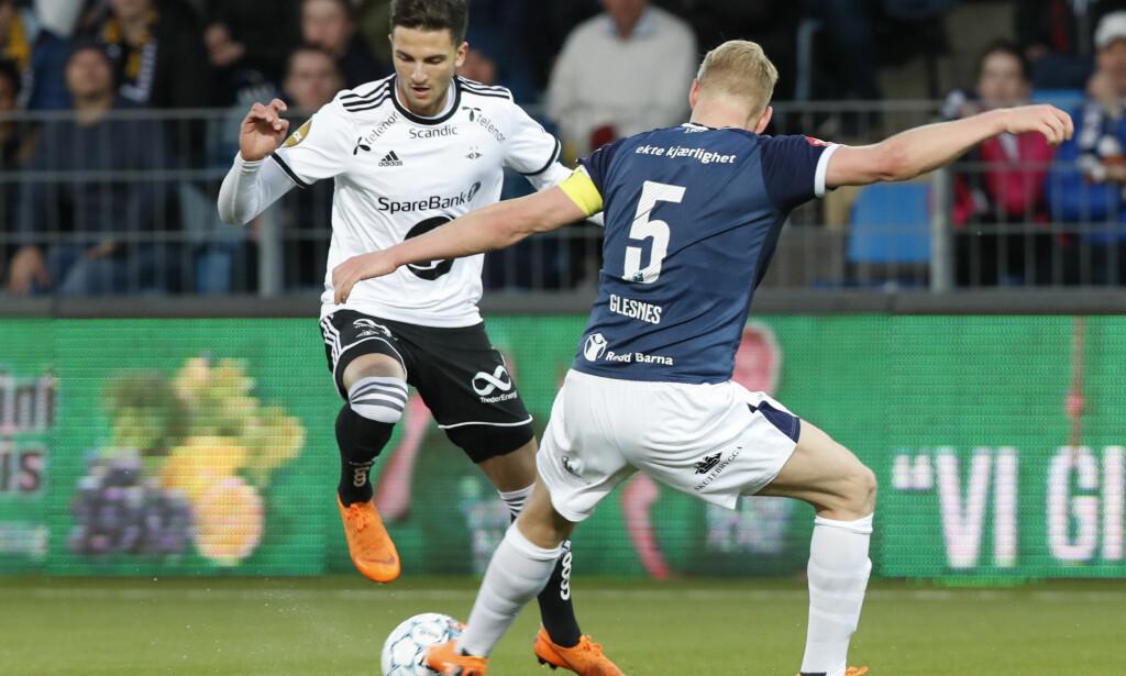 LÅNES UT: Rafik Zekhnini blir høyst sannsynlig presentert som Twente-spiller i løpet av kort tid. Foto: Terje Bendiksby / NTB scanpix