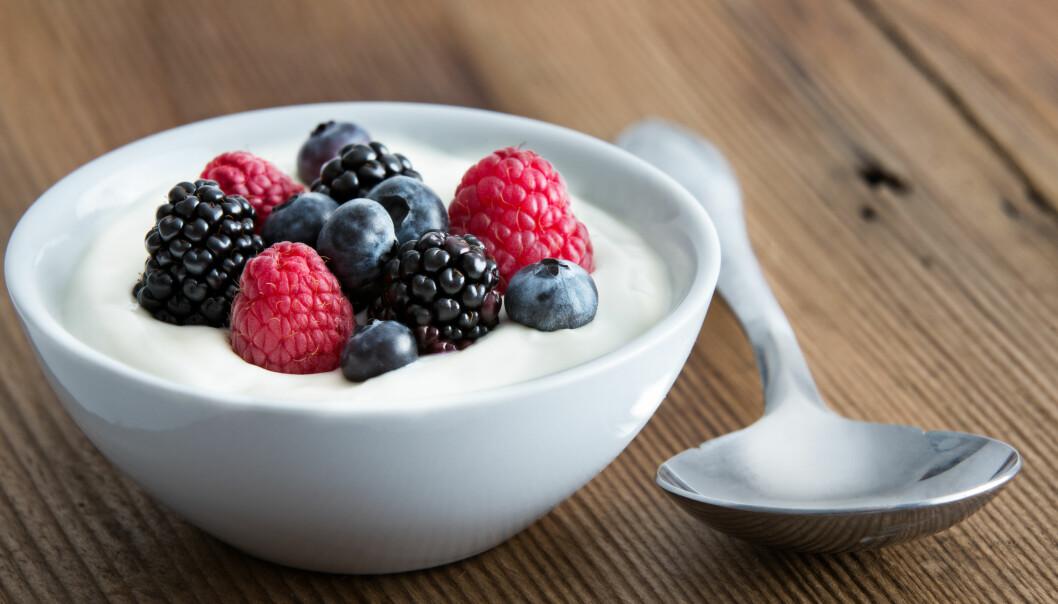 BYTT UT ISEN: Spiser du mye is kan du bytte den ut med kesam eller yoghurt med frukt og kanskje nøtter i. FOTO: NTB Scanpix