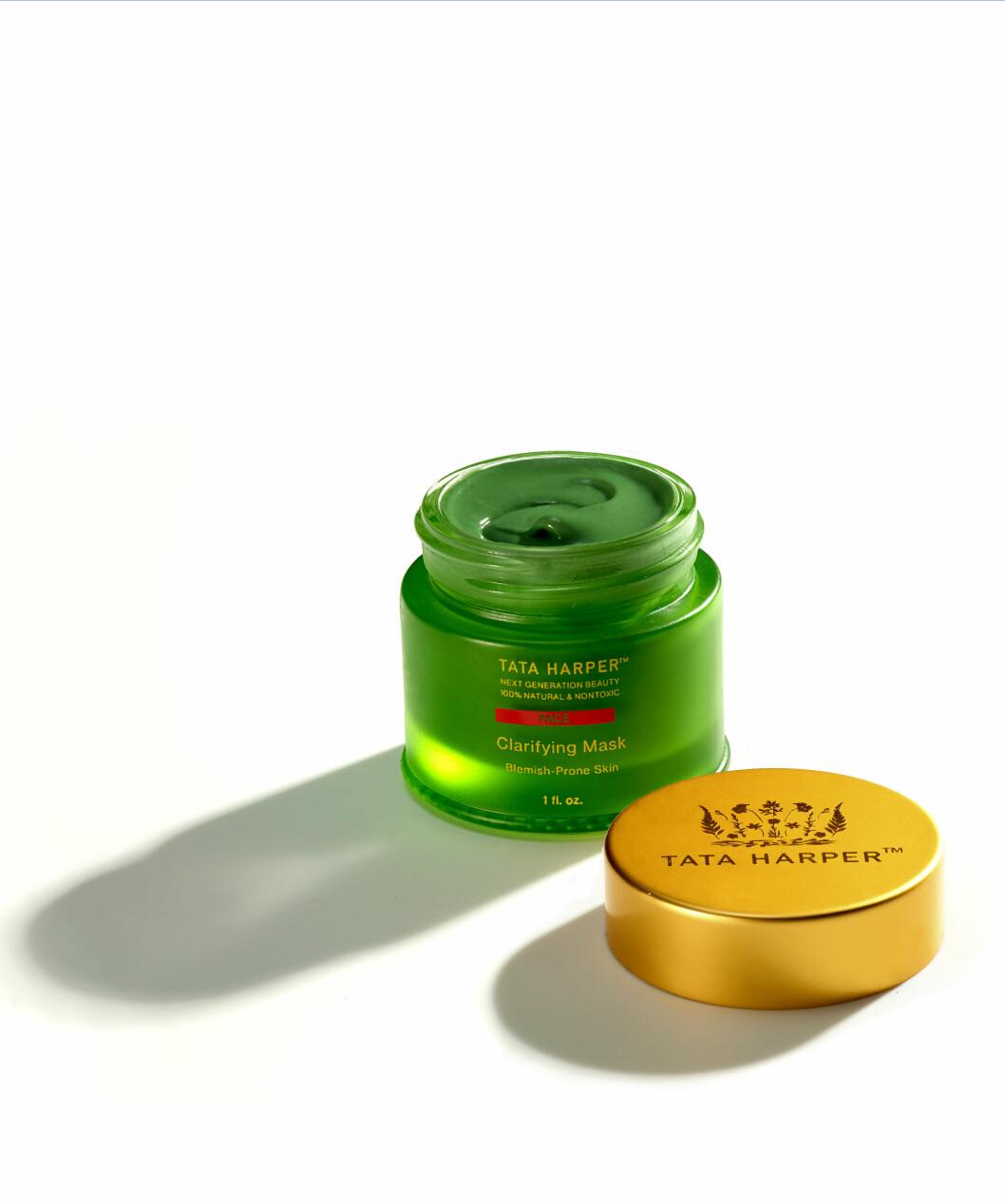 Peelende maske (kr 730, Tata Harper, Clarifying Mask)