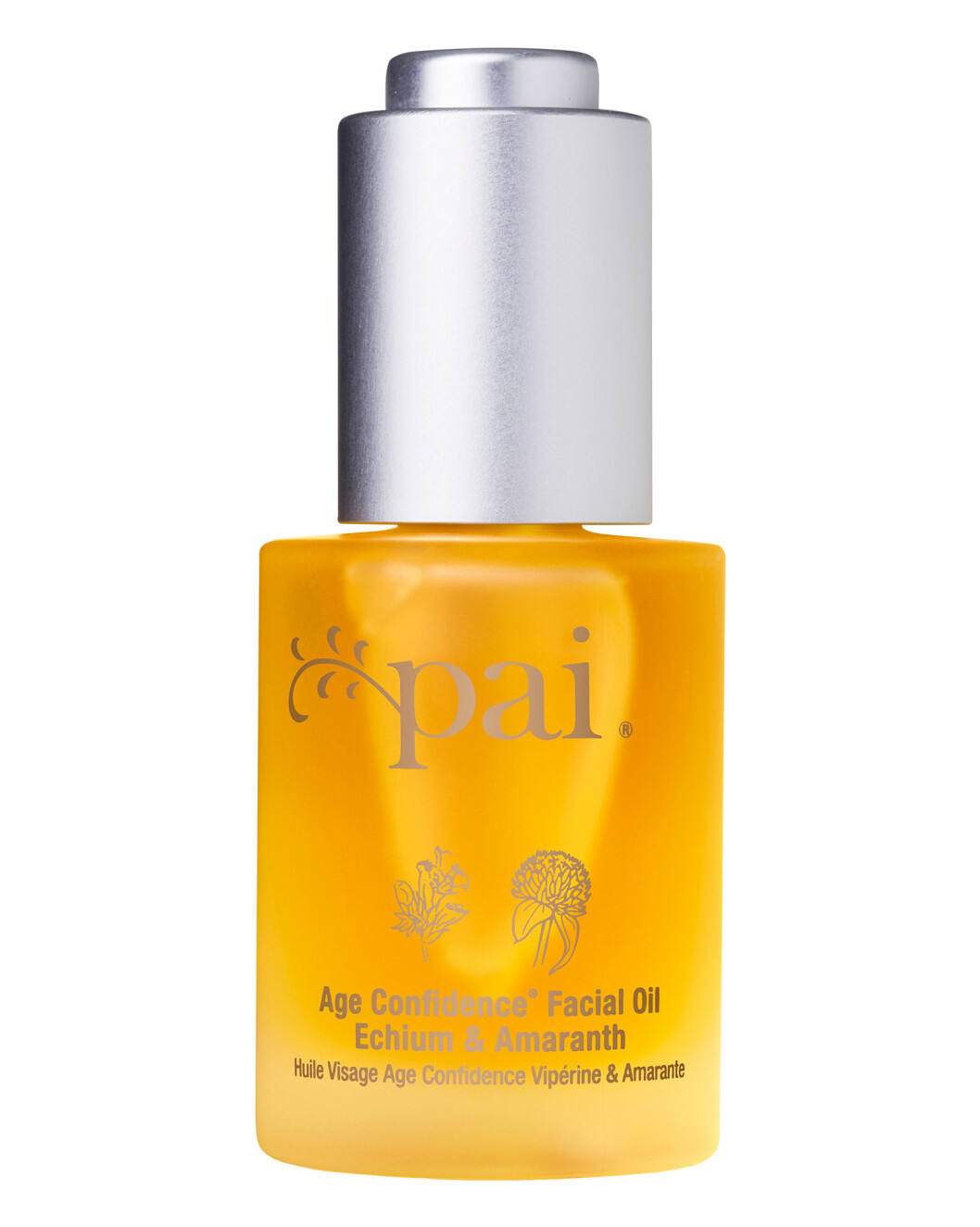 Antiage olje for sensitiv hud (kr 565, Pai Skincare, Age Confidence Facial Oil Echium & Amaranth).