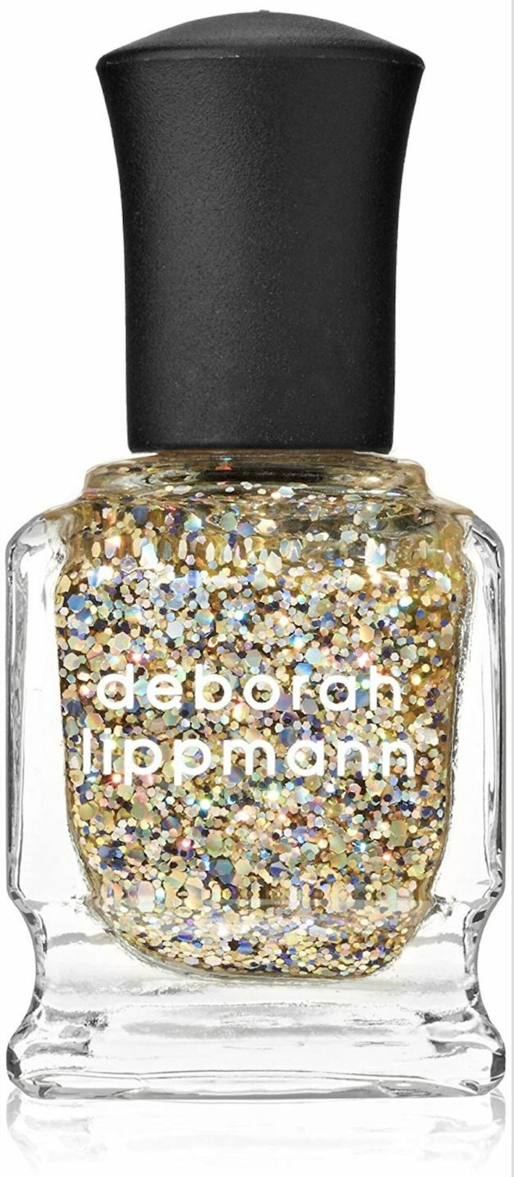 Med masse glitter (kr 170, Deborah Lippmann, The Golden Rule).