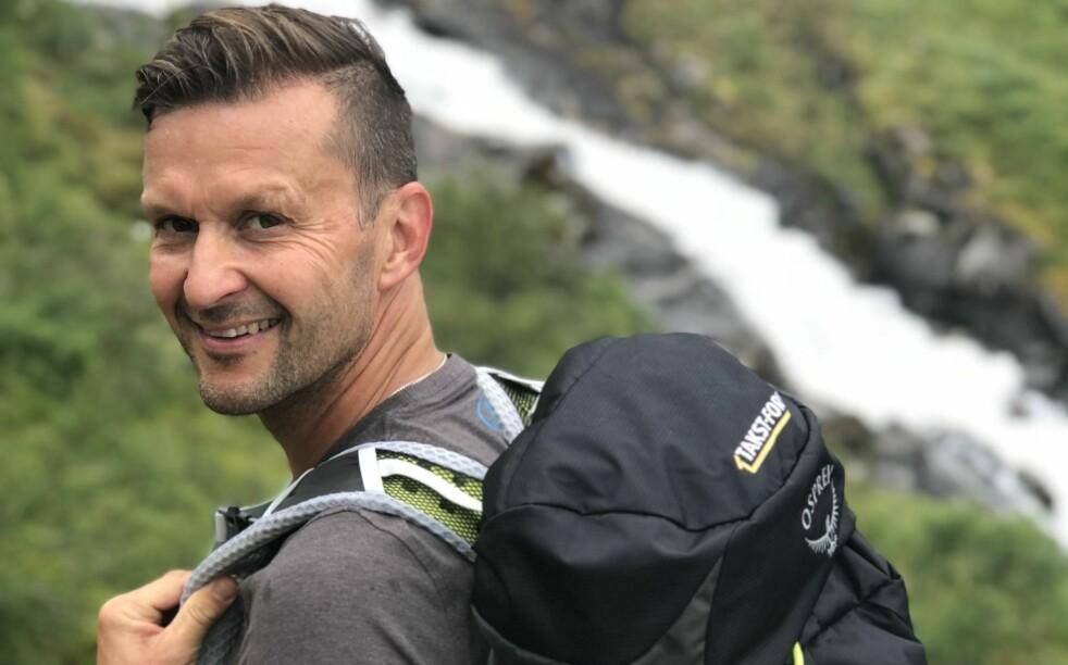 VETERAN: Mellom alle turer i skog og mark skal Rosenborg-legenden Roar Strand spille i 3. divisjon for Melhus. Foto: Privat