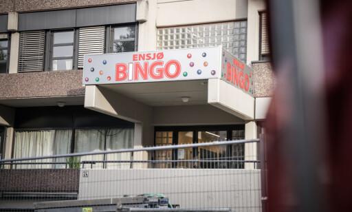 ÅSTED: Ensjø Bingo på østkanten i Oslo var åsted for machete-angrepet. Foto: Øistein Norum Monsen/Dagbladet.