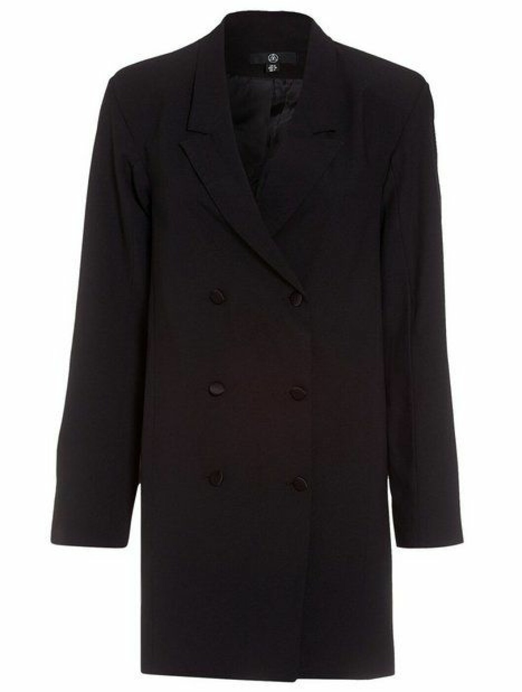 <strong>Missguided  449,-  https:</strong>//nelly.com/no/kl%C3%A6r-til-kvinner/kl%C3%A6r/festkjoler/missguided-201538/crepe-belted-button-blazer-dress-605915-0426/