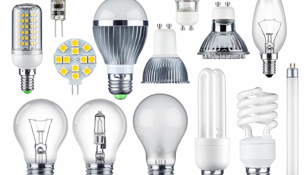 <strong>FORBUD MED UNNTAK:</strong> Glødelamper ble det forbudt å selge allerede i 2013 og 2014. Sparepærene ble faset ut i 2016. Nå er det halogenlampenes tur. Men det finnes flere unntak. Foto: Stockphoto-Graf/Shutterstock/NTB scanpix