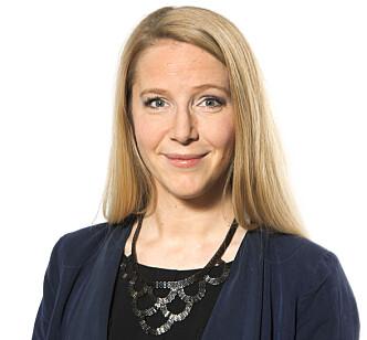 <strong>FORKLARER:</strong> Talsperson Astrid Mannion-Gibson i Norwegian blir ikke ofte spurt om setekartene sine, men har svar. Foto: Norwegian