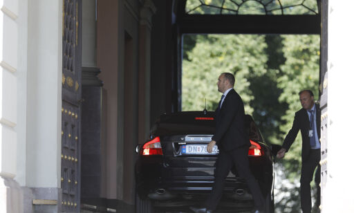 image: Solberg: - Vil ikke unnskylde Hoksruds handling