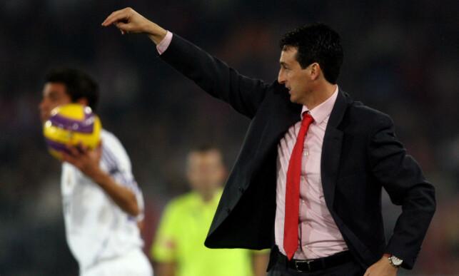 FIKK MULIGHETEN: Unai Emery i tiden som Almeria-trener. Foto: AFP PHOTO/JOSÉ LUIS ROCA/NTB Scanpix