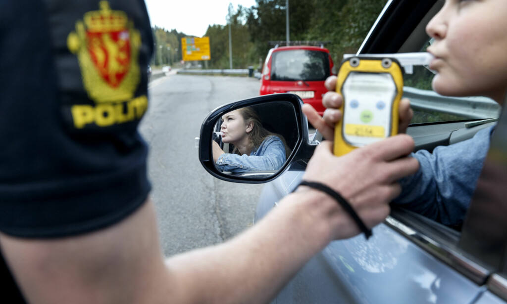 ULOVLIG: Promillekjøring er ulovlig. Straffene varierer etter promillen og andre spesifikke forhold i den enkelte sak. Foto: Gorm Kallestad / NTB scanpix
