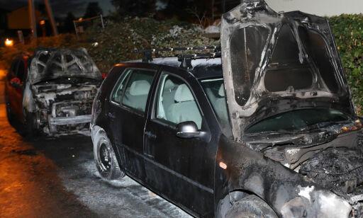 image: Fire påsatte bilbranner i Oslo