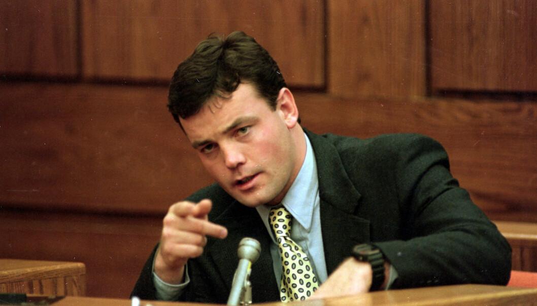 HEVDER SIN USKYLD: John Wayne Bobbitt har avvist samtlige beskyldninger om vold og overgrep. Han ble frikjent i en separat rettssak. Foto: NTB Scanpix