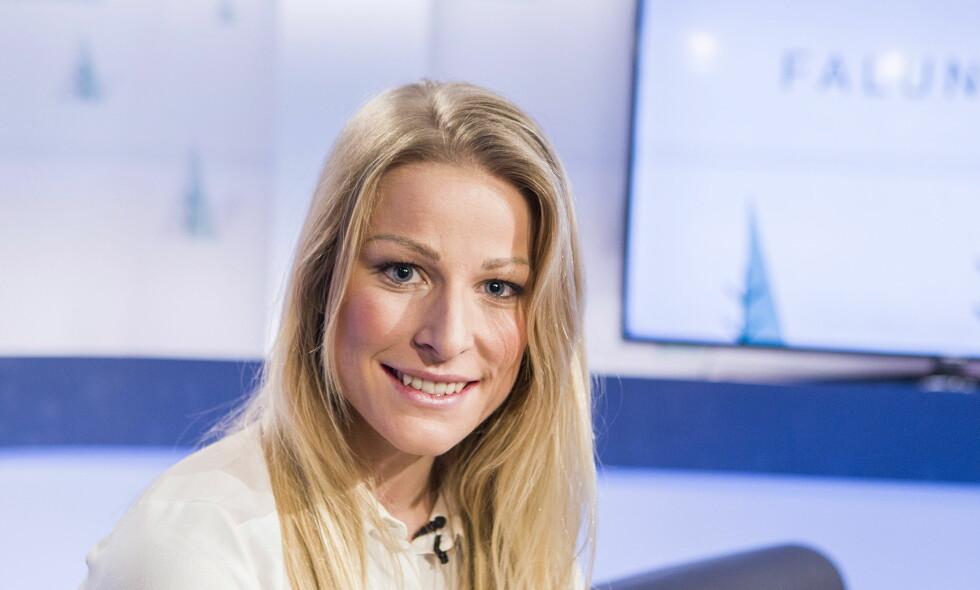 GJEST: Ida Eide gjestet Dagbladets VM-studio under kvinnenes 10 km i VM i Falun 2015. Foto: Halvor Solhjem Njerve / Dagbladet