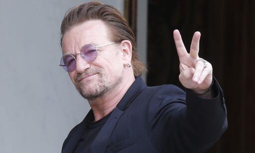 MISTET STEMMEN: Bono mistet stemmen, men skal skal ha fått den tilbake. Foto: AP /NTB scanpix
