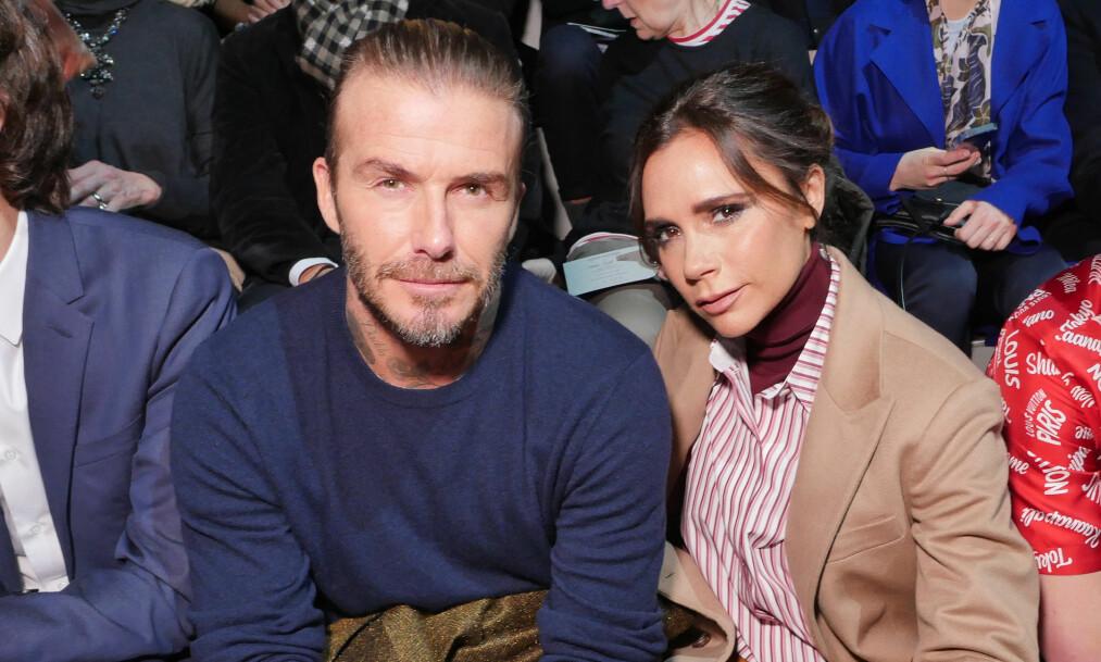 <strong>HOLDER SAMMEN:</strong> Til tross for en rekke bruddrykter opp gjennom årene, skal forholdet mellom David og Victoria Beckham være sterkere enn noen gang før. Foto: NTB Scanpix