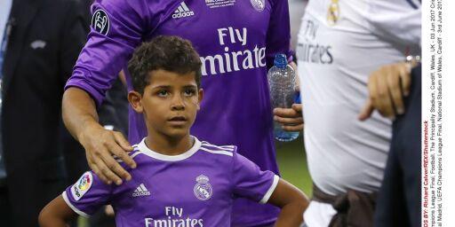 image: Cristiano Jr (8) har scoret flere mål for Juventus enn pappa