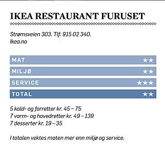 image: Blaut mat på Ikea: -Trenger ikke bruke tenner. Det holder å presse tunga mot ganen