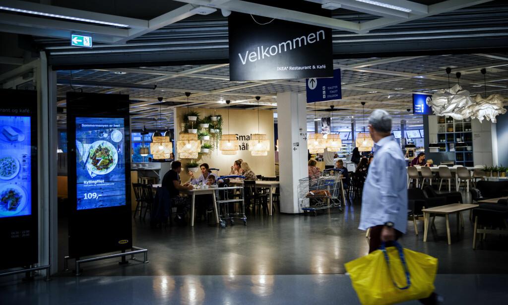 BLANT NORGES STØRSTE SPISESTEDER: Ikea serverer mer mat enn de aller fleste spisesteder i Norge. Men, maten er ikke alltid like spennende. Foto: Nina Hansen