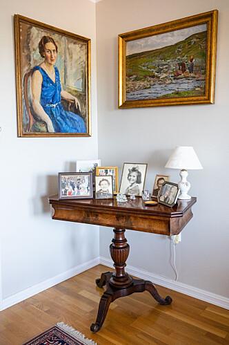 <strong>LUFT:</strong> Noen ting fortjener ekstra plass. Spillbordet til Mona Enger får trone i stuen. Foto: Audun Braastad / NTB scanpix
