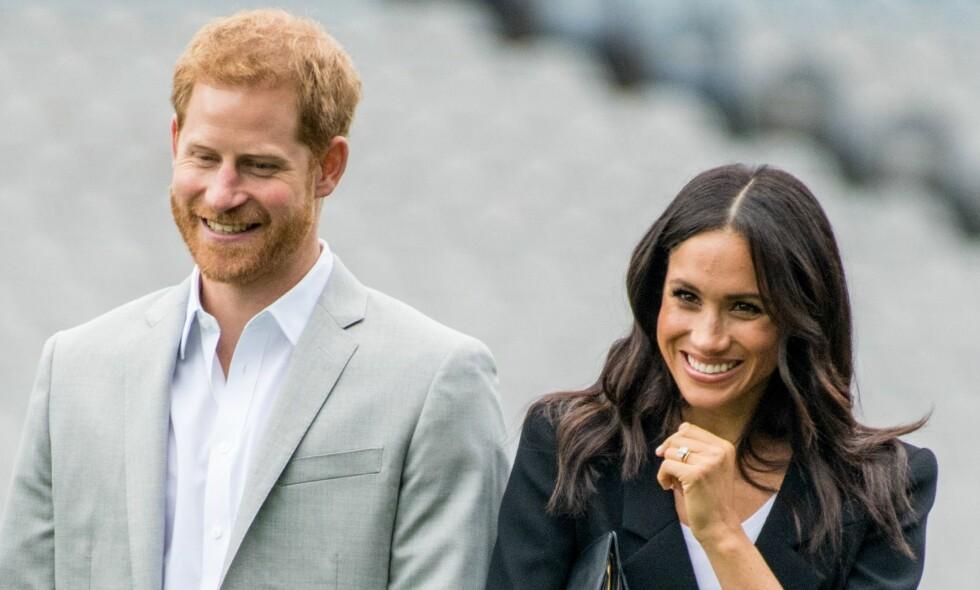 ROMANTISK GAVE: I 2016 kjøpte prins Harry en gave med en helt spesiell mening til hertuginne Meghan. Foto: NTB Scanpix