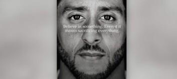 Nike støtter den kontroversielle stjerna. Folk svarer med boikott og brenning av klær