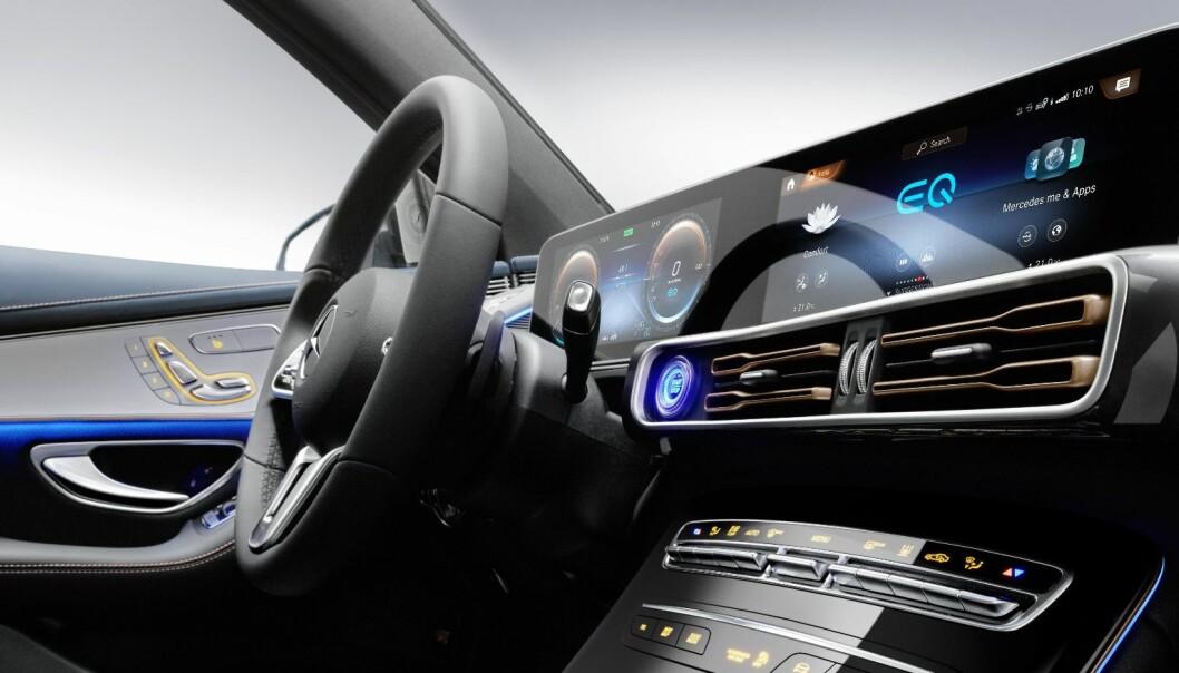 Første el-SUV fra Mercedes vist fram tirsdag - sjekk bildene