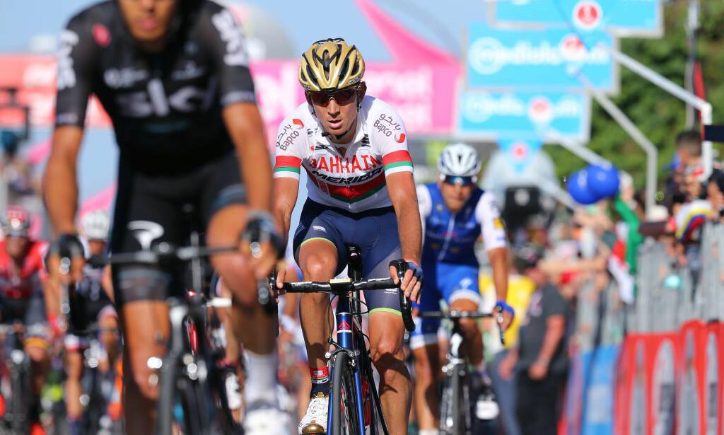 SUSPENDERT: Det internasjonale sykkelforbundet har gjort et mistenkelig analytisk funn i en dopingprøve avlagt utenfor konkurranse av Kanstantsin Siutsou. FOTO: Getty Images, Tim De Waele
