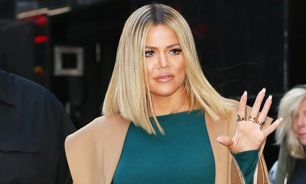 RASER: Et nytt innlegg om Khloé Kardashian og Tristan Thompson får førstnevnte til å rase i sosiale medier. Foto: NTB Scanpix