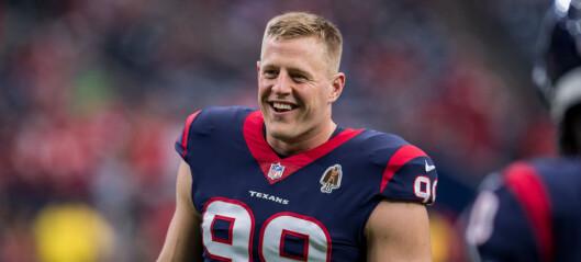 Skadet NFL-stjerne rører USA