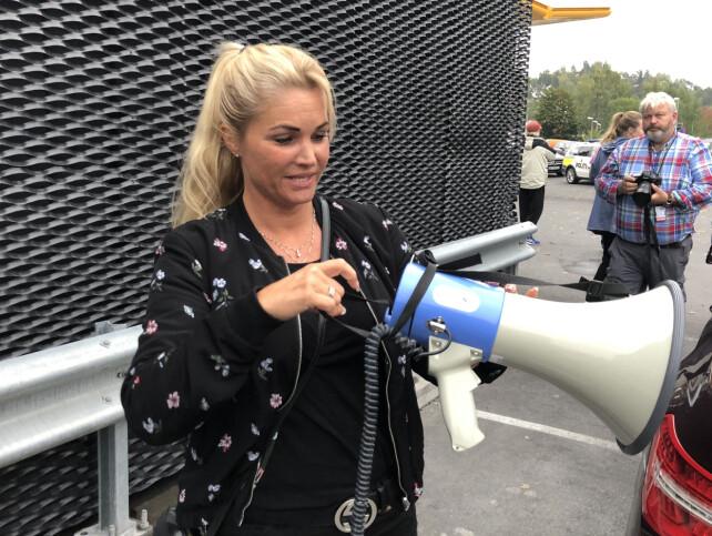 - URETTFERDIGE: Hovedaksjonist Cecilie Lyngby mener bomprisene er sosialt urettferdige. Foto: Ørjan Ryland / Dagbladet