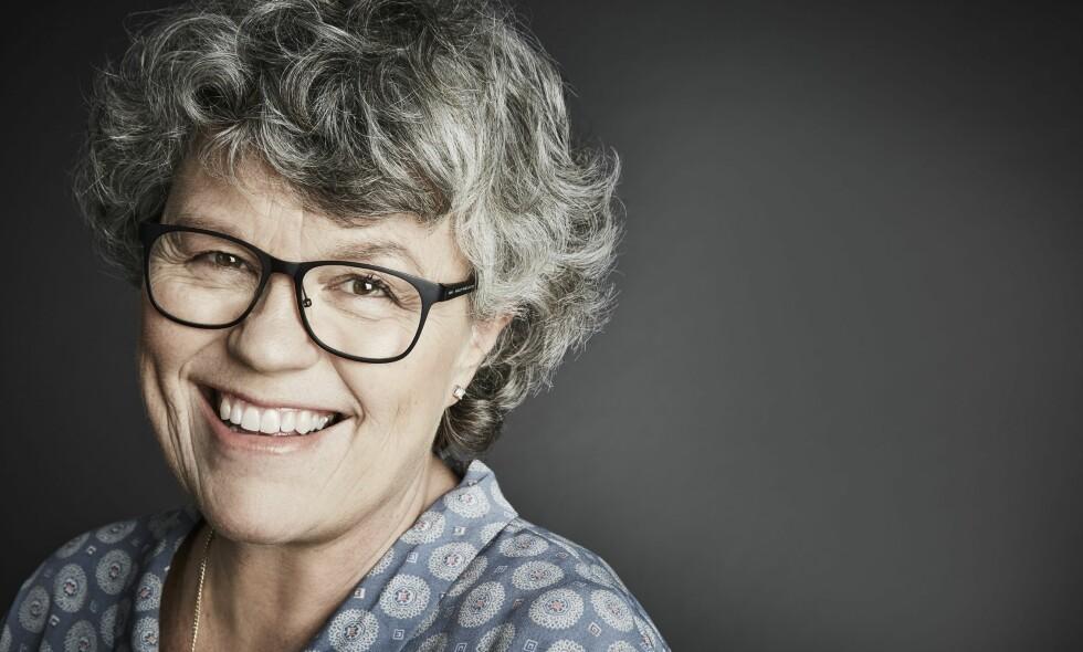 PÅ SPORET: Anne Holt introduserer to nye etterforskere i årets krim. Foto: Anna-Lena Ahlström
