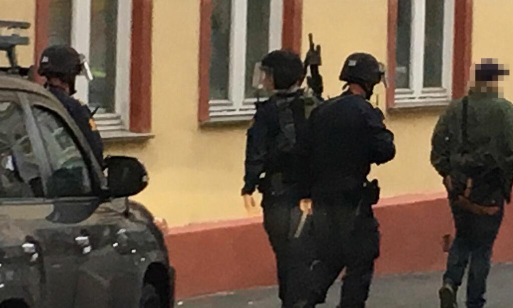 image: Væpnet politiaksjon da barn viftet med lekepistol i Oslo