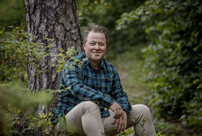 <strong>- DET ER SYND:</strong> Arne Hjeltnes synes det er synd hvis det er blitt slik at man er redd for å vite hvor maten kommer fra. Foto: Jørn H Moen / Dagbladet