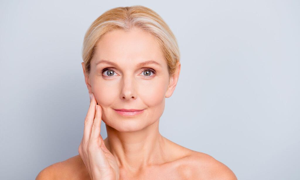 107ab84b VOKSEN HUDPLEIE: De siste årene er det blitt utviklet mange nye produkter  for voksne kvinner