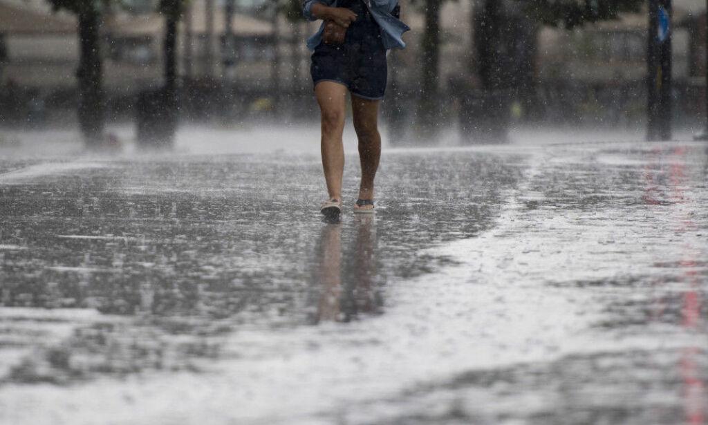 image: Frykter flom og jordskred: Disse stedene blir rammet av styrtregn