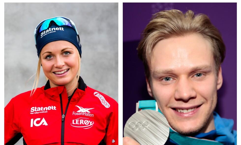 FANT LYKKEN: Hege Bøkko og Håvard Holmefjord Lorentzen er blitt et par. Foto: NTB Scanpix