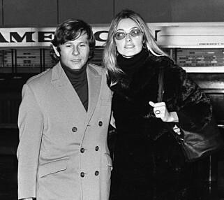 BLE DREPT: Regissør Roman Polanski og kona, skuespiller Sharon Tate. Tate ble senere drept av medlemmer av Charles mansons sekt. Foto: NTB Scanpix