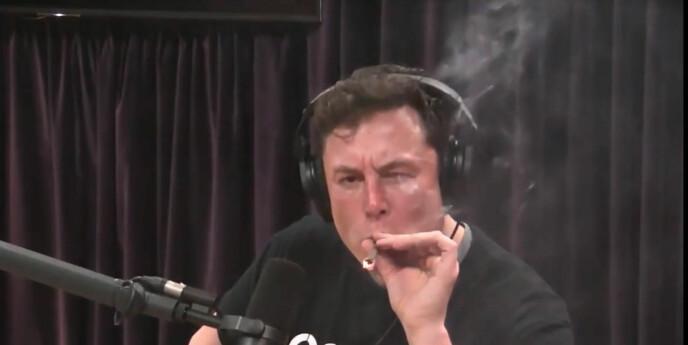 Tesla stupte etter Elon Musks marihuanarøyking