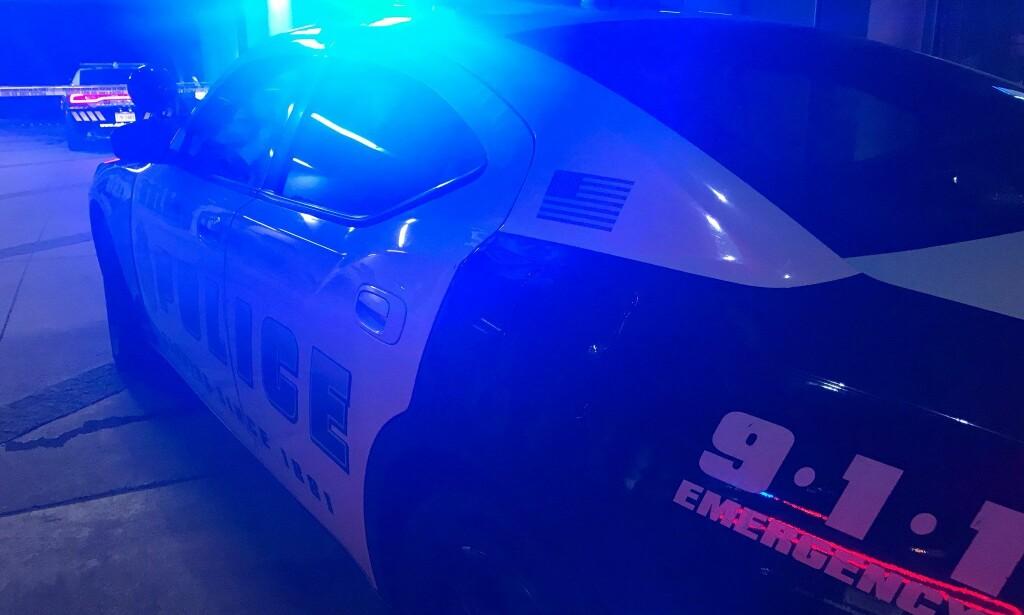 ÅSTED: Politiet i Dallas rykket ut til skyteepisoden, hvor en av deres egne hadde avfyrt skudd. Foto: Twitter / Dallas PD