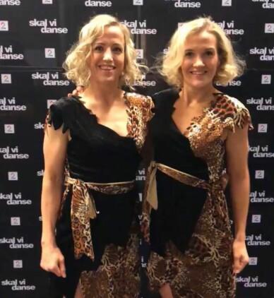 <strong>FAMILIESTØTTE:</strong> Heidi og Lise Løke poserer for Se og Hør i kveldens antrekk. Foto: Henriette Eilertsen / Se og Hør
