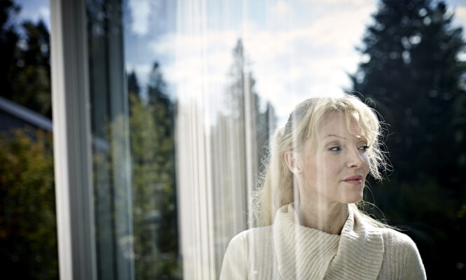SKAMMEN: Skamfølelsen kjenner Grethe Bøe fremdeles på hver eneste dag. - Emosjonelt tinnitus, kaller jeg det. FOTO: Geir Dokken