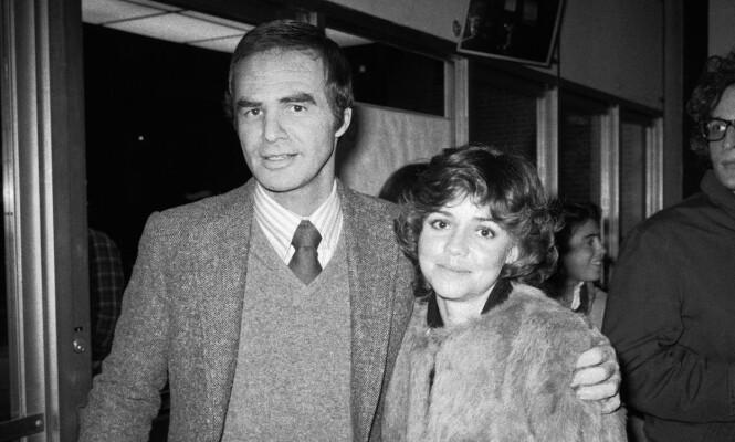 EVIG KJÆRLIGHET: Burt Reynolds klarte aldri å legge følelsene for Sally Field bak seg. Foto: NTB Scanpix