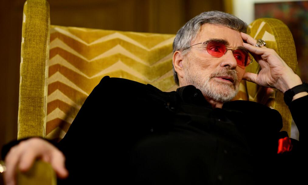DØD: Skuespiller Burt Reynolds gikk bort forrige uke. Foto: NTB Scanpix
