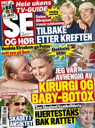 I SALG NÅ: Les mer i tirsdagens utgave av Se og Hør