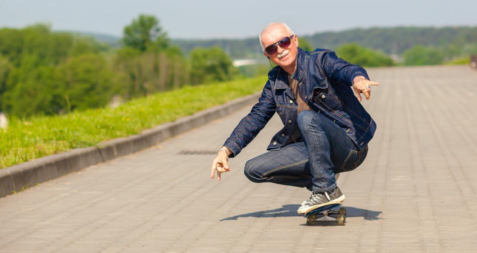SUBJEKTIV ALDER: De fleste føler seg yngre enn sin egentlige alder. Foto: Shutterstock