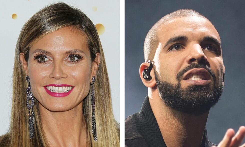 IGNORERT: Heidi Klum avslører at Drake ba henne med ut på date. Selv om hun angivelig har innrømmet å være betatt av rapperen, valgte hun å aldri svare ham. Nå forklarer hun hvorfor. Foto: NTB Scanpix