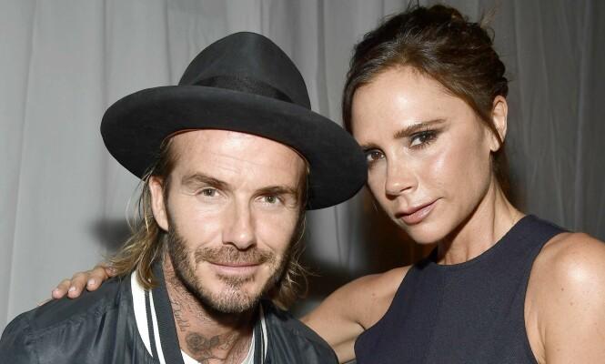 <strong>SAMMEN I TYKT OG TYNT:</strong> David og Victoria Beckham er en av Englands mest profilerte kjendispar. Neste år feirer de 20 år som mann og kone. Foto: NTB scanpix
